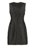 Baum und Pferdgarten Abee Polka-dot Print Mini-dress - black