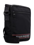 Alexander McQueen Nylon Messenger-bag - black