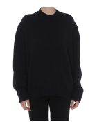 Jil Sander Cutted Out Details Pullover - Blue