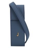Jacquemus Leather Lipstick Holder - blue