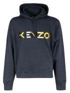 Kenzo Logo Hoodie - Multicolor