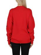 Givenchy Red Wool Blend Jumper - Red