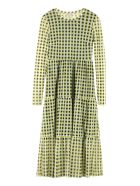 Baum und Pferdgarten Joceline Printed Tulle Dress - Yellow