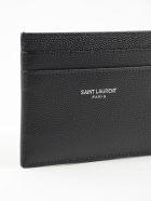 Saint Laurent Credit Card Case - Black