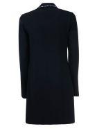 Victoria Beckham Open Front Shift Dress - Black