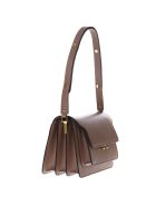 Marni Light Brown Trunk Bag In Saffiano Calfskin - Light brown