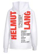 Helmut Lang Hooded Fleece Impress - Basic