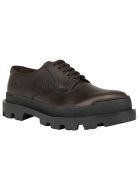 Prada Platform Lace Up Shoes - Ebano