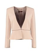 Max Mara Studio Ribaldo Slim Fit Blazer - Pink