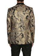Dolce & Gabbana Embroidered Floral Blazer - BLACK GOLD