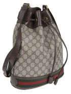 Gucci Gg Supreme Bucket Bag - Beige Ebony