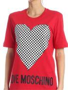 Love Moschino T-shirt - Rosso