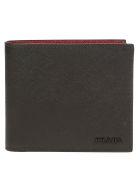 Prada Wallet - Nero/cerise