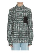 Golden Goose Hilary Shirt - Green flowers