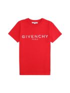 Givenchy Cotton Crew-neck T-shirt - red