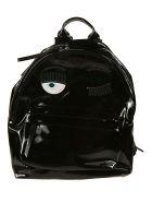 Chiara Ferragni Flirting Eye Backpack - black