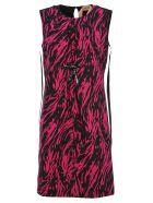 N.21 N21 Zebra Pattern Dress - ZEBRA FUCHSIA