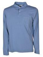 Hartford Chest Pocket Polo Shirt - Light blue