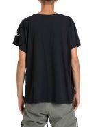 Greg Lauren Oversized T-shirt With Logo - Nero