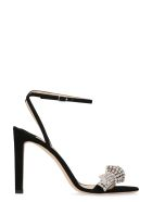 Jimmy Choo Thyra Suede Sandals - black