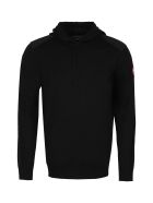 Canada Goose Amherst Hooded Wool Sweater - black
