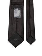 Prada Satin Tie - Nero