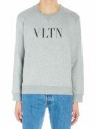 Valentino 'vltn' Sweatshirt - Gray