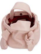 STAUD Ronnie Leather Mini-bag - Pink