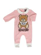 Moschino Cotton Jump Suit - ROSE