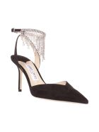 Jimmy Choo Sandals - Black Crystal