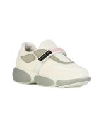 Prada Cloudbust Sneakers - White Silver