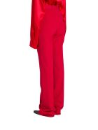 Balenciaga Tailored Pants In Red Stretch Tailoring Twill - Rosso