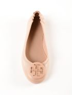 Tory Burch Tory Burch Minnie Logo Ballerinas - Sand