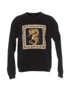 Versace Logo Sweatshirt - Black
