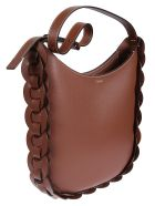 Chloé Medium Darryl Shoulder Bag - Sepia Brown