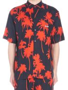 MSGM 'palms' Shirt - Black
