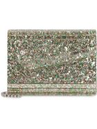 Jimmy Choo Candy Glitter Box Clutch - green