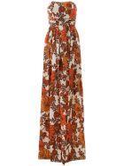 Dodo Bar Or Zaza Long Dress - ORANGE BROWN (Brown)