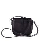 Golden Goose Black Leather Shoulder Bag - Black