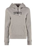 Tommy Jeans Cotton Hoodie - grey