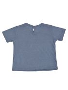 Babe & Tess Pocket Short Sleeve T-shirt - Azure
