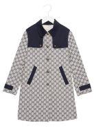 Gucci 'gg' Coat - Multicolor