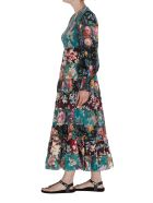 Zimmermann Allia Tiered Long Dress - Multicolor