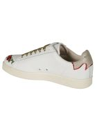 M.O.A. master of arts Embroidered Sneakers - White