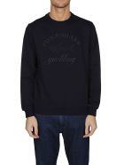 Paul&Shark Embroidered Logo Sweatshirt - Blue