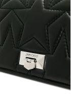 Jimmy Choo Helia Small Shoulder Bag - Black/silver