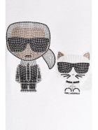 Karl Lagerfeld 'k/ikonic' T-shirt - White