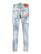 Dsquared2 Cool Girl Cropped Jeans - Denim