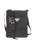 Prada Small Technical Crossbody Bag - Black