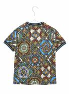 Dolce & Gabbana 'vetrate' T-shirt - Multicolor